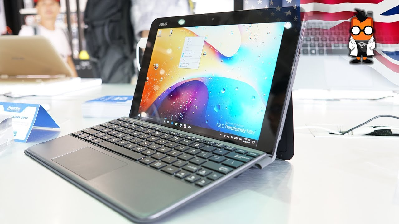 62d1249cf1da2 ASUS Transformer Mini Hands On - A Budget 2 in 1 for Students - YouTube