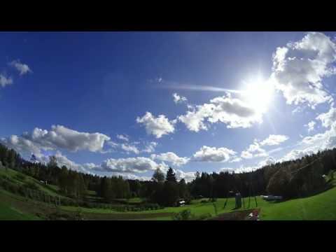 Nibiru / Planet x watch. Weather time lapse, Latvia 01.10.2016