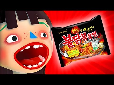 Game Anak Kecil Rakus Makan Pedas 😱 - Game Masak Masakan Raja Makan Samyang - Toca Kitchen 2