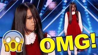 OMG! Creepy Magic Auditions Have Judges & Audience SPOOKED!
