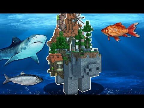 Minecraft Infinito #32: COLOCARAM MINHA CASA DEBAIXO DÁGUA?!