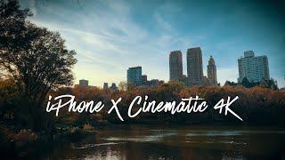 Memories of New York - iPhone X Cinematic 4K