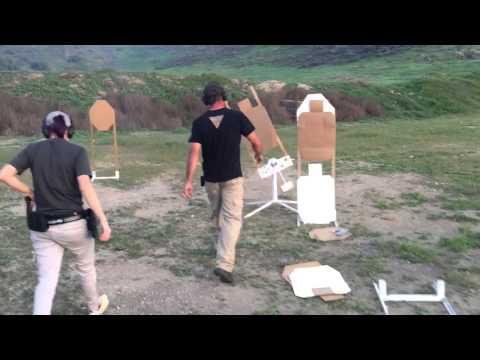 Robert Vogel teaching how to shoot swingers