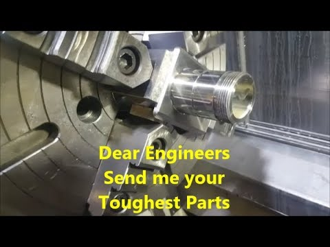 Challenging 5-Axis Milling on the Mori Seiki --- Fancy Prototype
