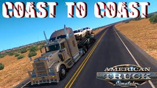 American Truck Simulation - Coast To Coast Mod