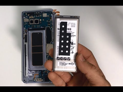 How to Replace the Battery on a Samsung Galaxy Note 8