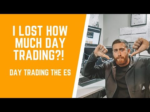 I LOST HOW MUCH DAY TRADING THE E-MINI S&P 500