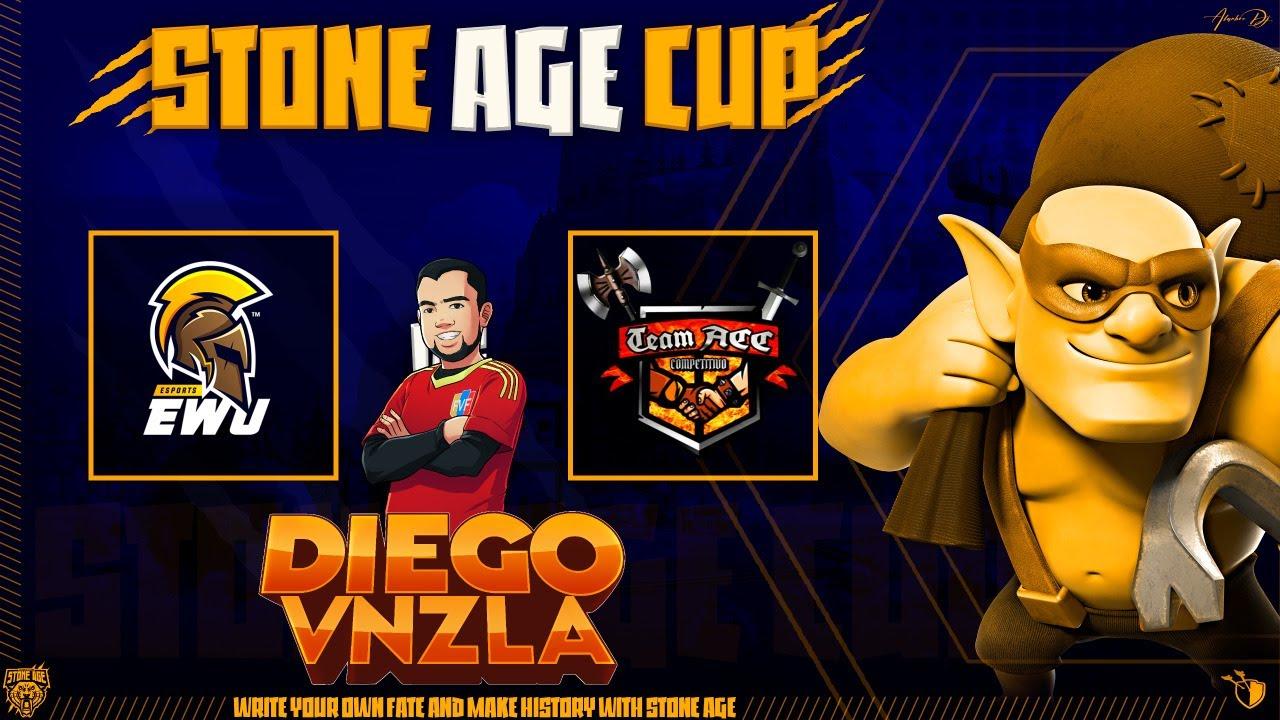 DIRECTO | EWU ESPORT VS TEAM ACC | STONE AGE CUP | Clash Of Clans | DiegoVnzlaYT