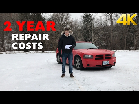 Dodge Charger V6 Maintenance & Repairs After 2 Years - NOT CHEAP!