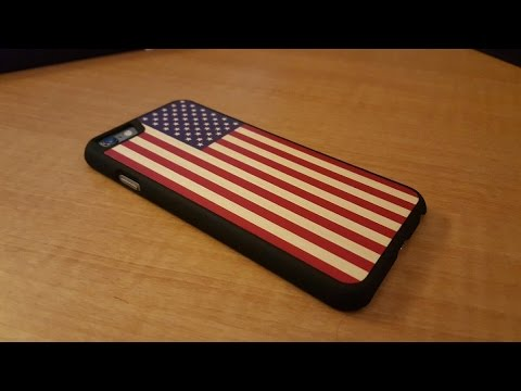 american flag iphone case carved wooden american flag slim iphone 6 unboxing 3324