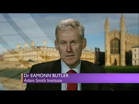 Dr Eamonn Butler argues food banks provide better welfare than the state on BBC Sunday Politics