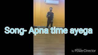 APNA TIME AAYEGA DANCE ROUTINE | GULLY BOY | DANCE | JOY CHOREOGRAPHY