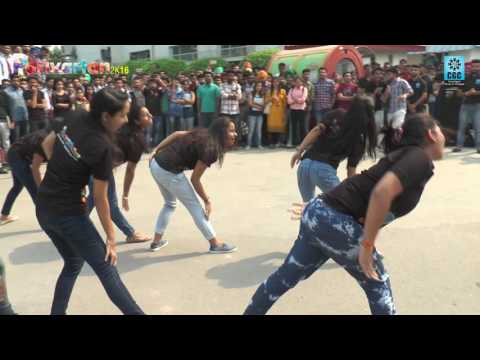 CGC@Parivartan 2K16 Flash mob