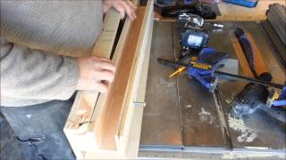 The Ultimate Tablesaw Fence Accessory, Raised Panels And Coves