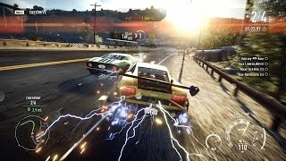 Need For Speed Rivals Tech Hits and Rear Ram Racers in a Race 4K 60fps Gameplay