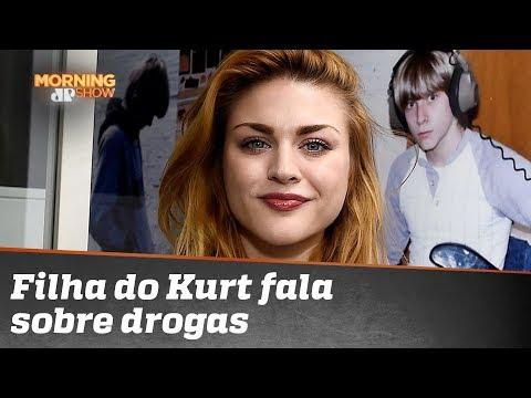 Olha o que a filha do Kurt Cobain falou sobre drogas