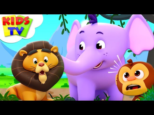 Zoo Song | The Supremes Cartoons | Kindergarten Nursery Rhymes For Children - Kids TV