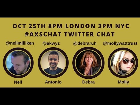 AXSchat with Molly Watt.Keynote speaker, usability and accessibility consultant.