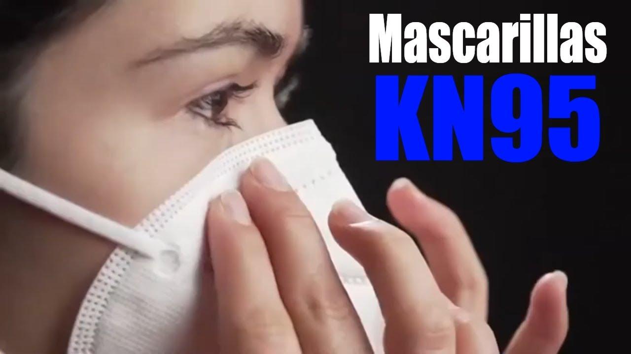 MASCARILLAS KN95 😷 Recomendables, Necesarias y Efectivas 😱 SORPRESA / MEDICINA EXTRAORDINARIA