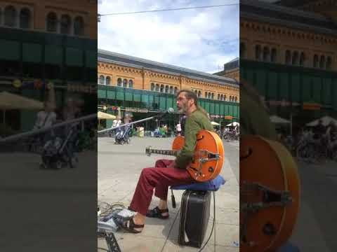 Busking in Hannover - stopped by police