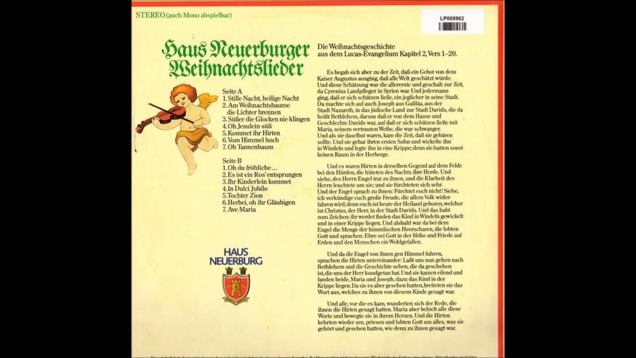 Haus Neuerburg - Nostalgische Weihnacht (Schallplatte) - YouTube
