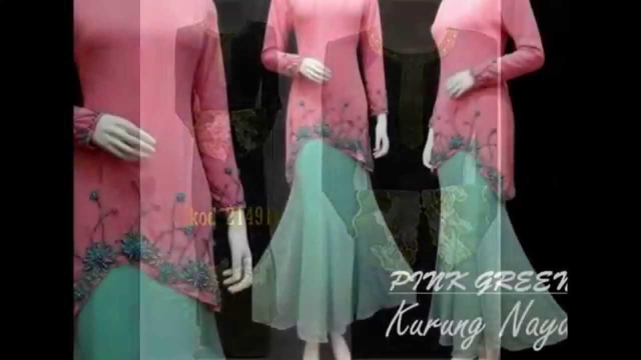 Gaun Muslimah Terbaru Baju Kurung Moden Baju Gamis Pesta