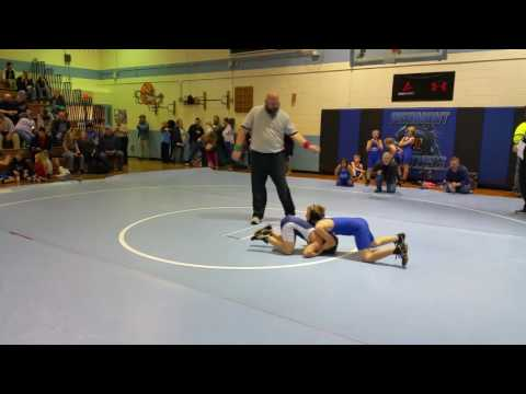Jaxon Wrestling 12/16/16 Parkwood Middle School