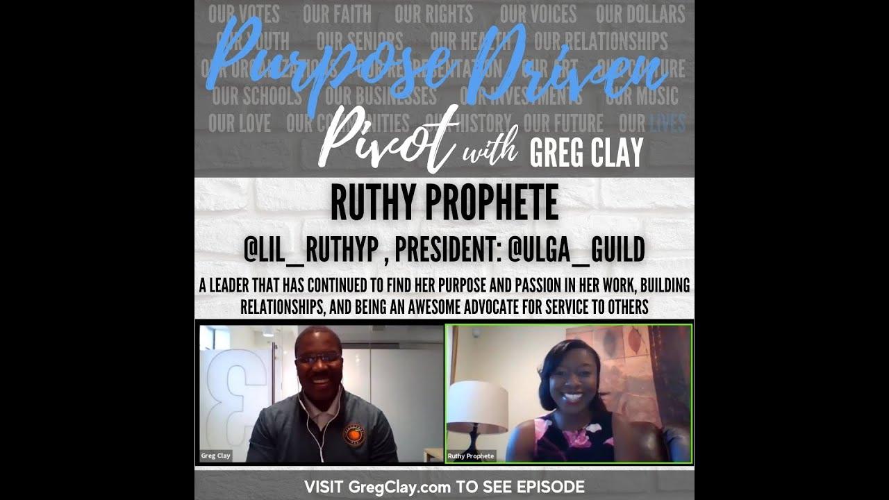 Purpose Driven Pivot , feat. Ruthy Prophete