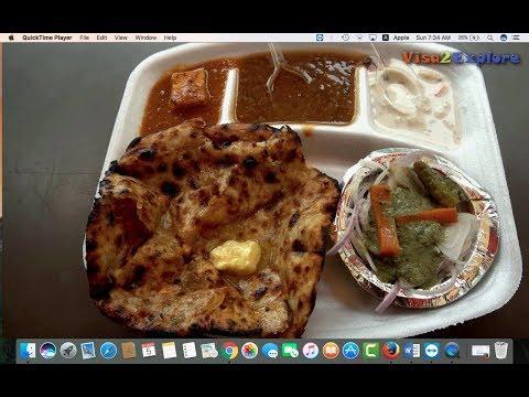 Street food Lajpat nagar, South Delhi: Paranthe, Chur chur naan, Momos