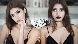 видео Готический макияж на глаза