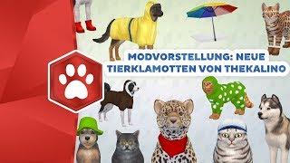 Neue Tierklamotten für Die Sims 4 | Modvorstellung | sims-blog.de