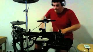 MxPx - Walking Bye (live version) Drum Cover