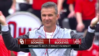 Week 2 Preview: Oklahoma at Ohio State