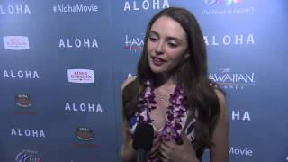 "Aloha: Danielle Rose Russell ""Grace"" LA Screening Movie Interview"