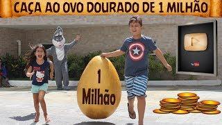 CAÇA AO OVO DOURADO DE 1 MILHÃO - Vale a pena ver de novo🎬