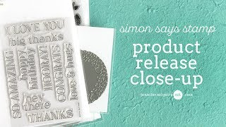 Product Release Close-Up + Examples: Simon Says Stamp
