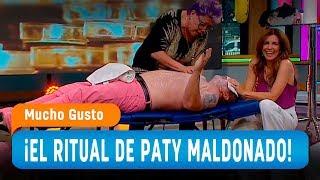 El particular ritual de Patricia Maldonado - Mucho Gusto 2019