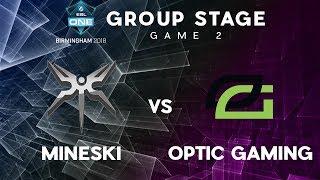 Mineski vs Optic Gaming   ESL One Birmingham   Group Stage   Game 2