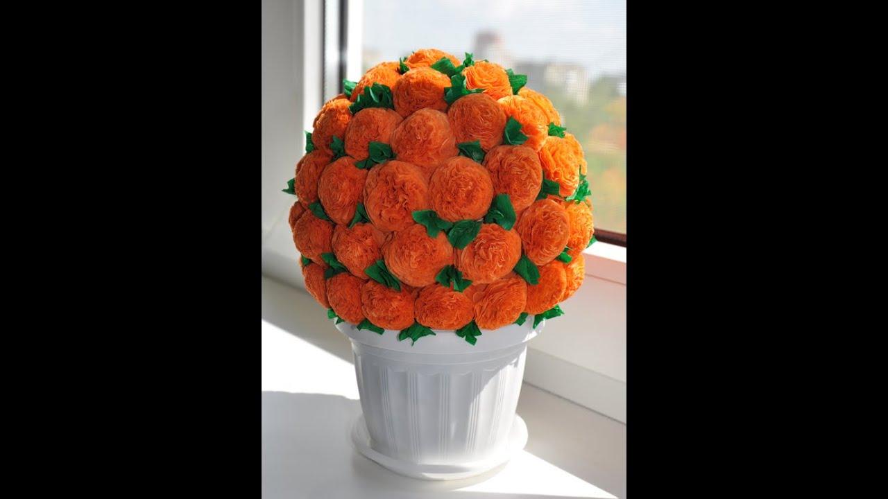 Поделки цветы из салфеток своими руками