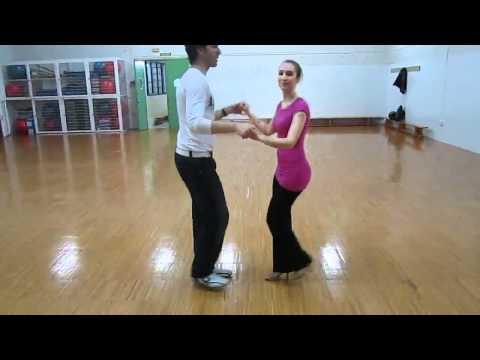 Salsa - Pasos de pareja Enchufla y Open