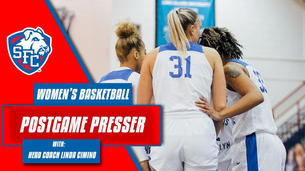 Postgame Presser W/ Head Coach Linda Cimino 1-23-21