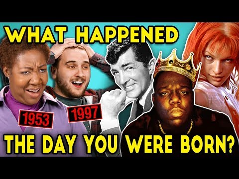 Adults And Elders React To The Day They Were Born