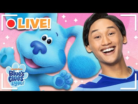 🔴LIVE: Ultimate Blue's Clues & You Vlogs! | Blue's Clues and You