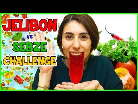 Jelibon Vs Sebze Challenge Dila Kent