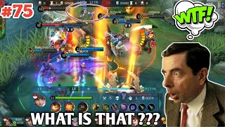 WTF Mobile Legends 300 IQ Funny Moments Episode 75 | WANWAN 300 IQ SAVAGE 🤩 + GIVEAWAY NEWS 😍😍😍
