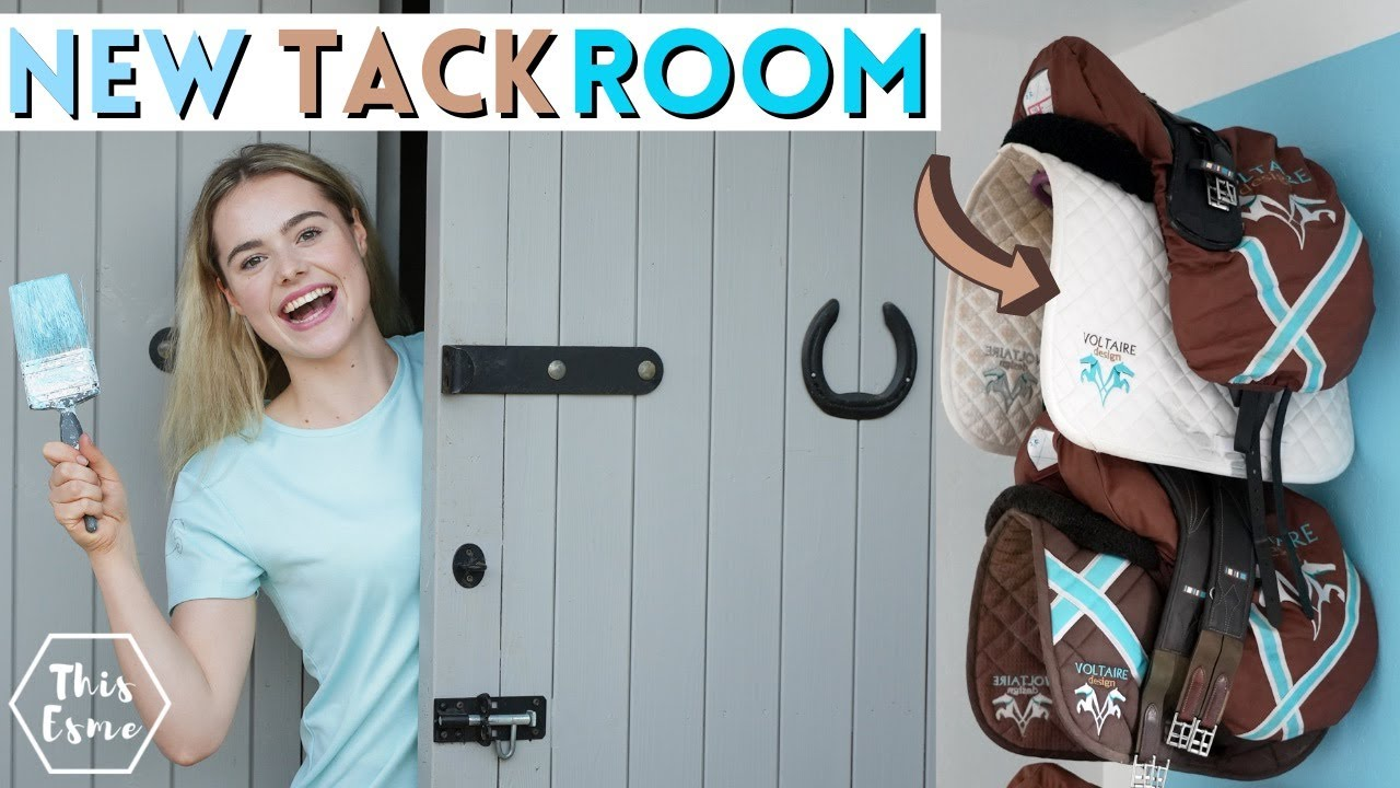 Download New Tack Room Transformation! Stable Renovation Series! AD   This Esme