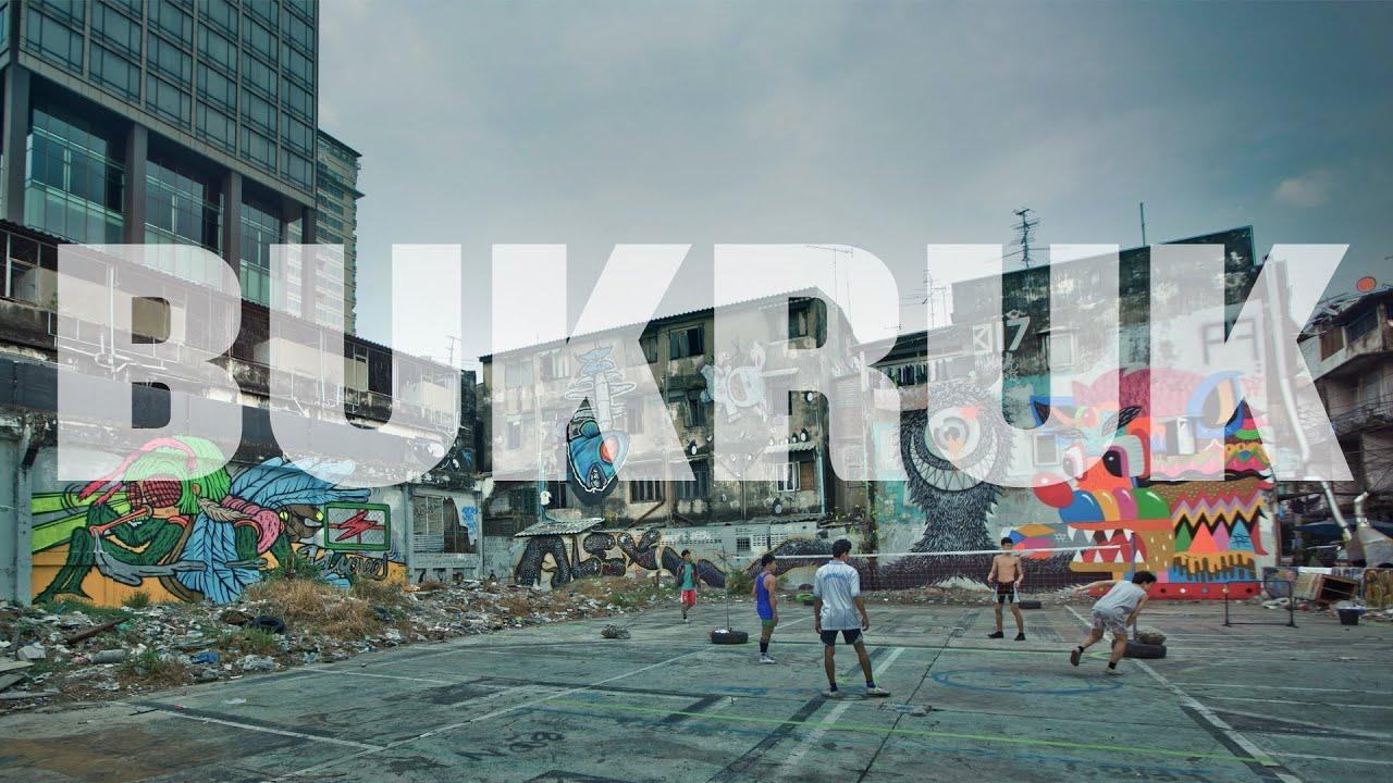 Bukruk Street Art Festival: Thai-Europe connection