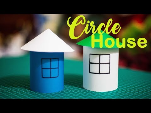 How to make a Paper House |Easy Paper Crafts|