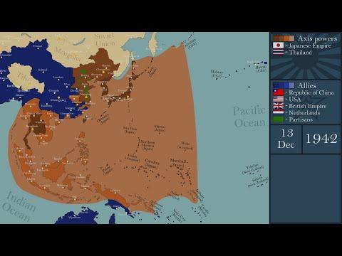 World War II - Pacific War (1931-1945) - Every Day