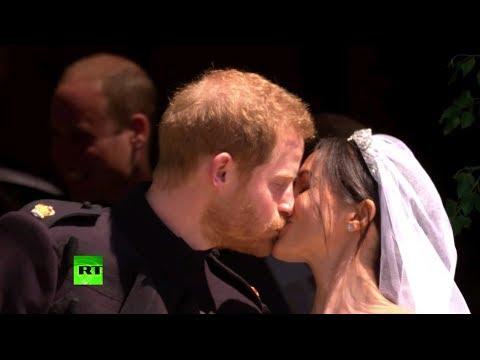 Главная свадьба Великобритании: принц Гарри и Меган Маркл сочетались браком в Виндзоре